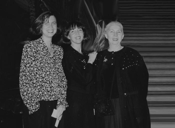 Isabelle, Patricia et Janine Stanlowa