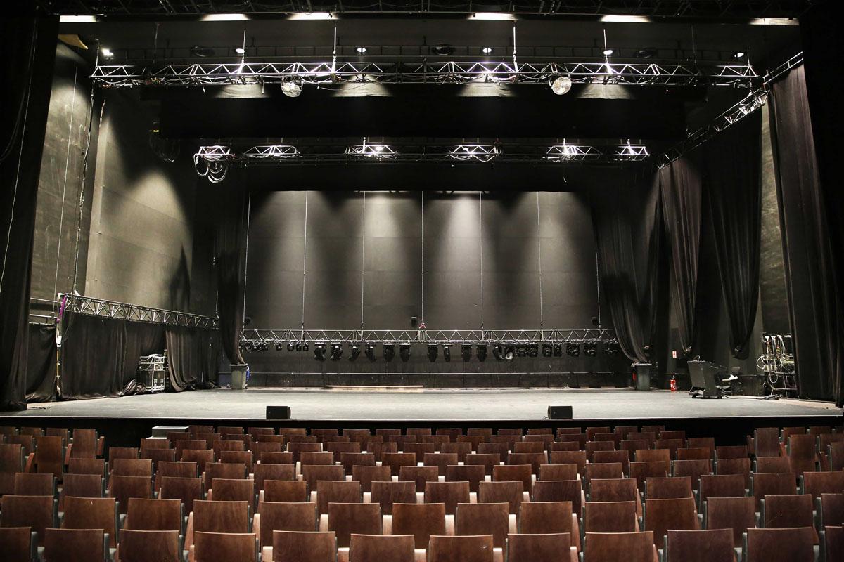 Scène du théâtre